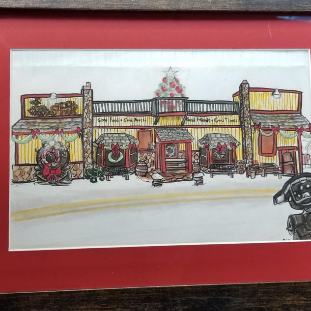 The Woodstock Inn Christmas Card
