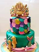 Fondant Cake - Royal Mermaid.png