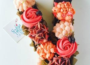 Cupcakes Monográma