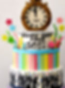 Fondant Cake - Time Party.jpg