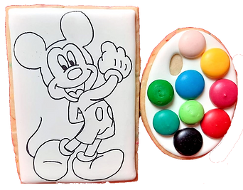 Galletas Acuarela - Mickey Mouse Trans.p