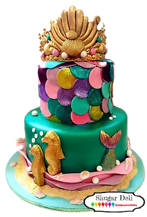 Fondant Cake - Royal Mermaid Trans.png