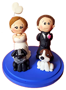 Cake Topper - Dog Lovers Trans.png