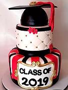 Fondant Cake - Elegance Graduation.png
