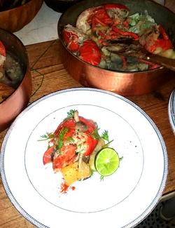 Cassava Mushrooms Lobster