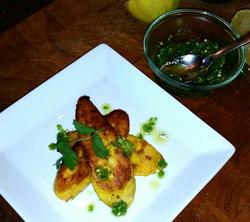 Plantains Jalapeno Sauce