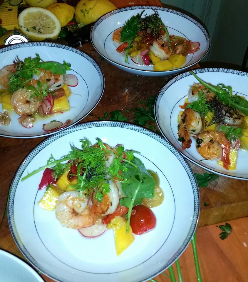 Shrimp Tropic Salad