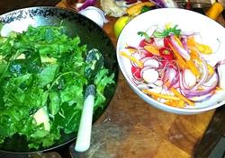 Tropic Salad Lemon Vinaigrette