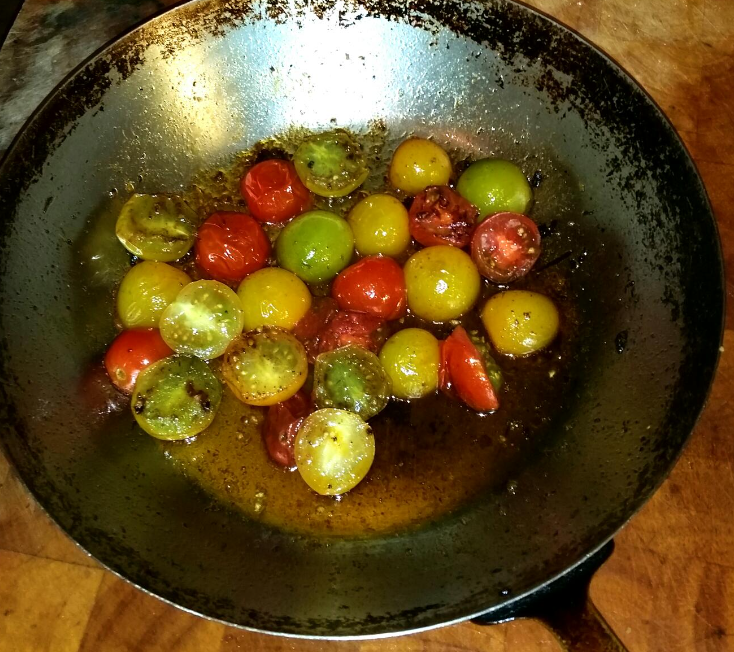 Sautéed Heirloom Tomato