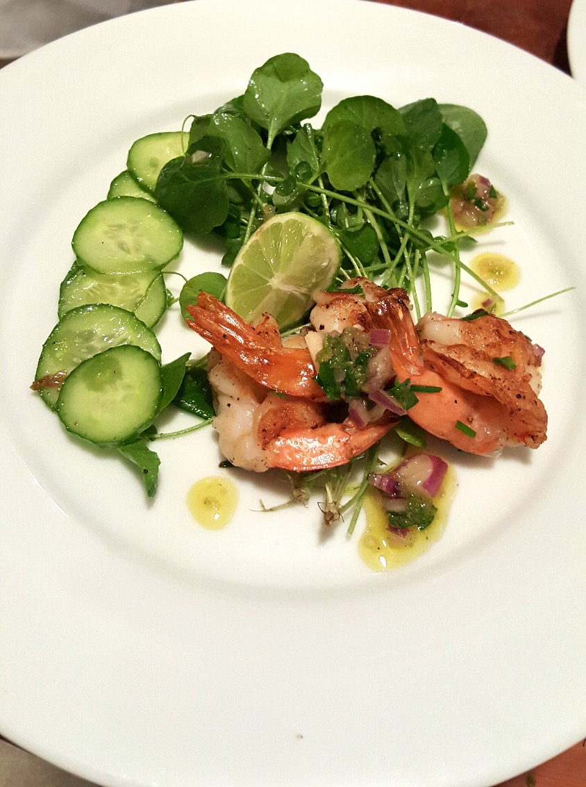 Shrimp Salad Jalapeño Sauce