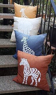 Safari Linen Pillow Covers African | Anabasua