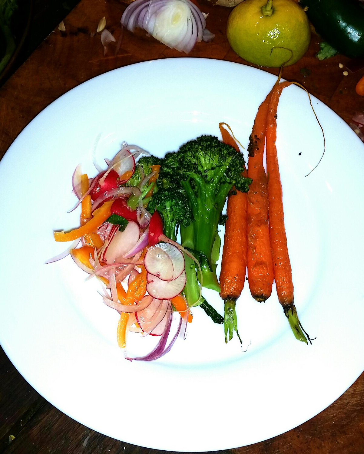 Cooked Vegetable Salad