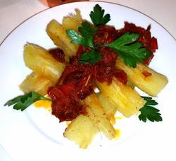 Cassava Fries Pepper Sauce