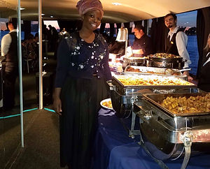 Wedding event catering