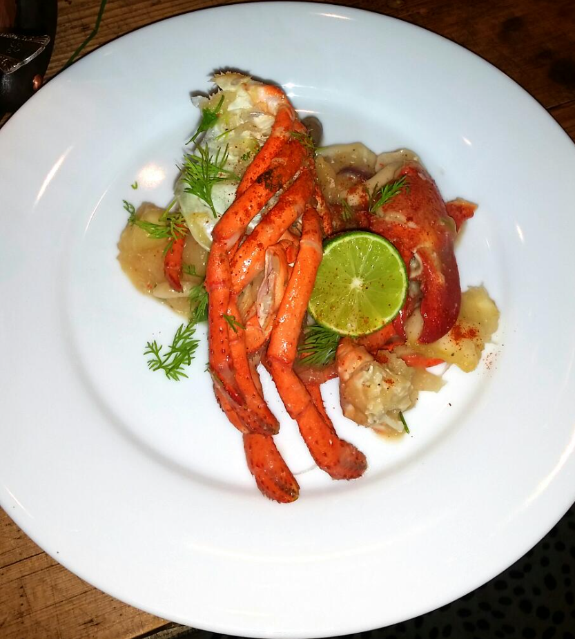 Cassava Mushrooms Lobster