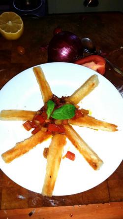 Cassava Fries Salsa