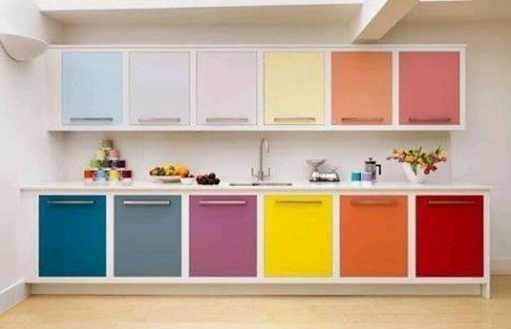 Modelos de cores para armários