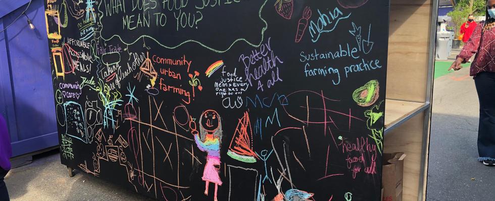 Food Justice Mural, 2021