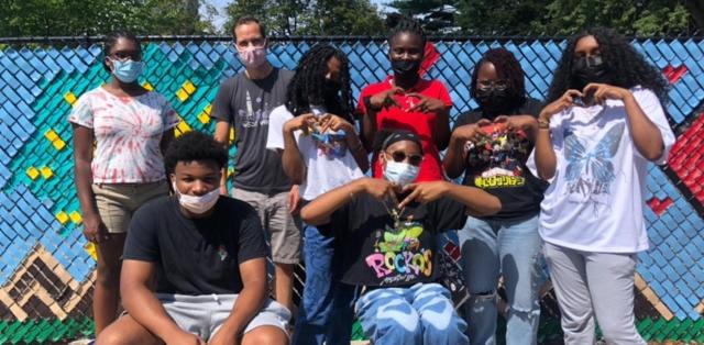 2021 Teen Public Art Crew