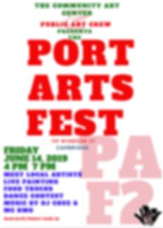 PORTS ARTS FEST 2019