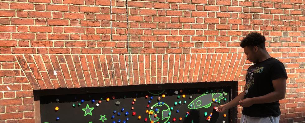 Magnet Wall Installation