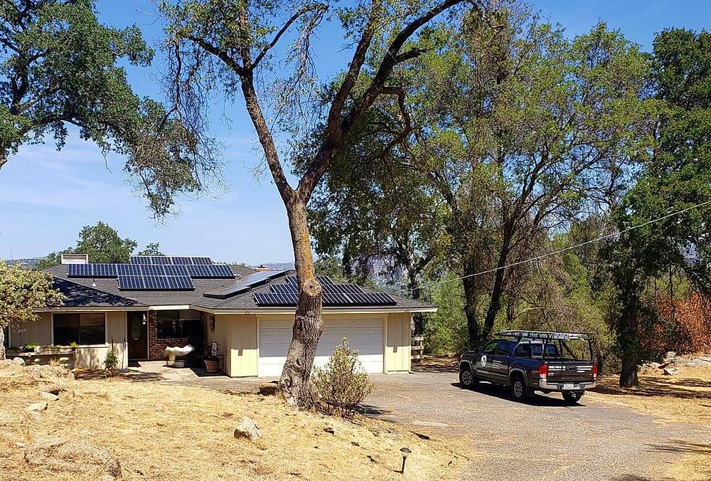 Off-Grid Solar Installation from Sbrega Electric | Fresno | Coarsegold, CA