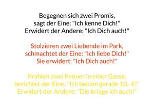 """""""Auch"""" nur ein deutscher Witz!"""