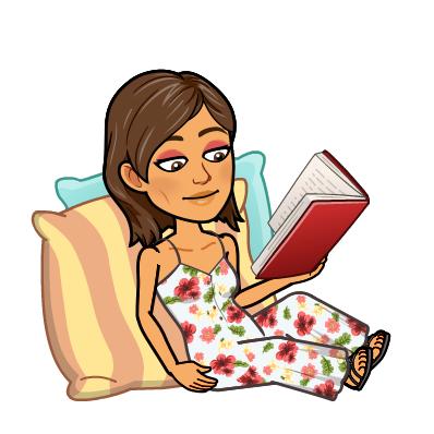 Im Sommer liest sie besonders oft!