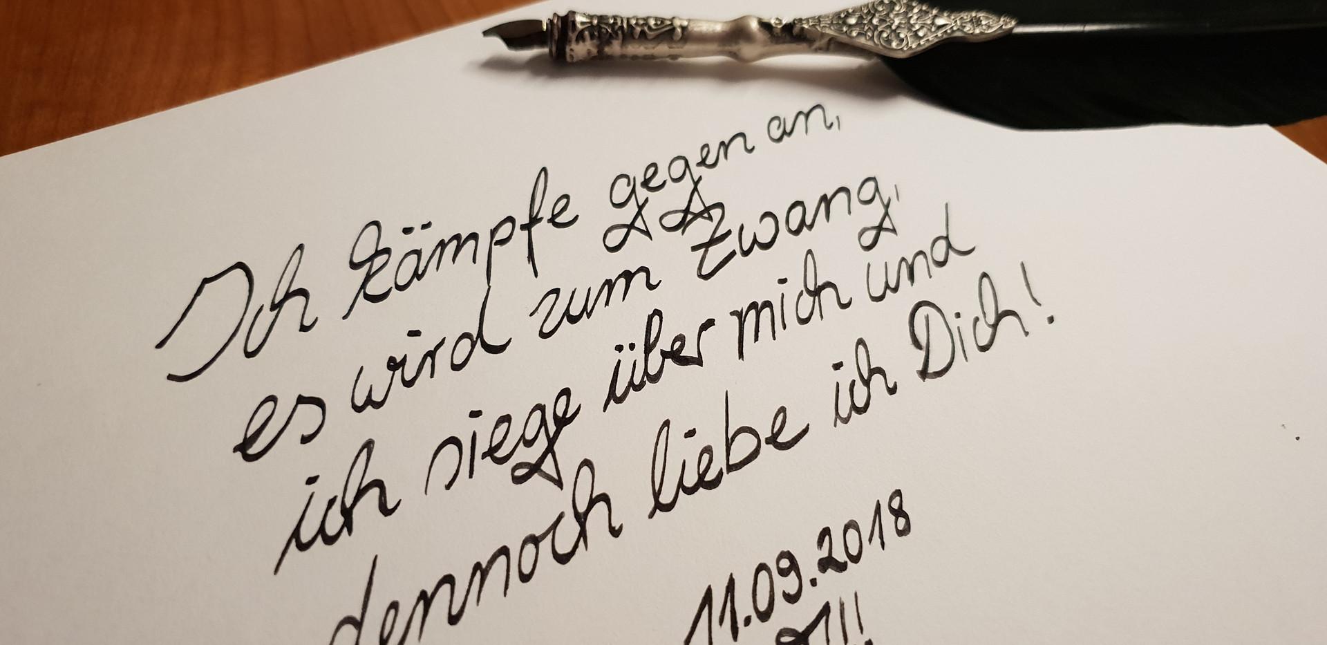 Gedicht: Liebeszwang!