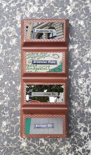 Belgische Blockschokolade aus Köln!