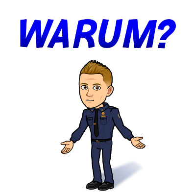 WARUM - Theo versteht das nicht!