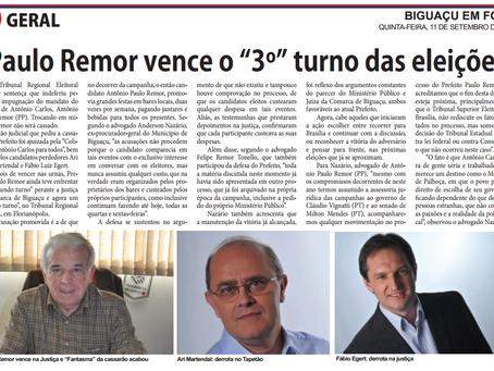 """Paulo Remor vence o """"3º"""" turno das eleições"""