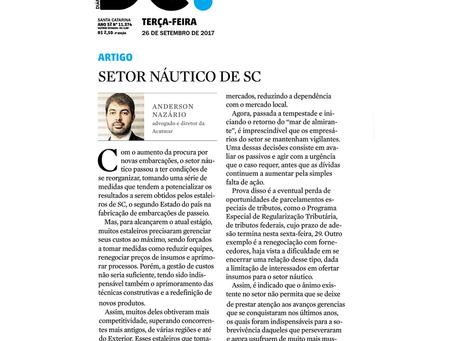 Setor náutico de Santa Catarina