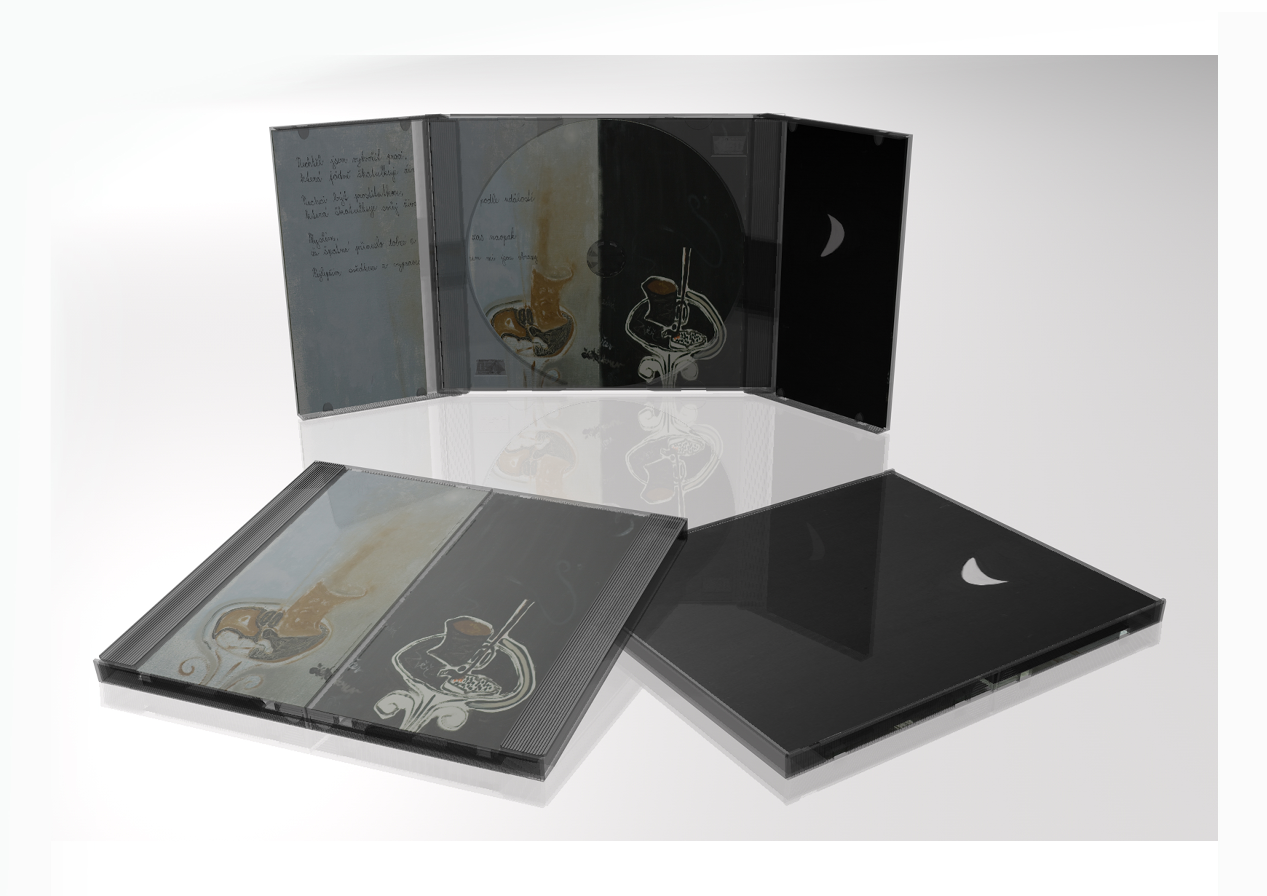 Vizualizace CD