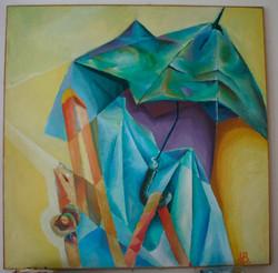 Zátiší s deštníkem