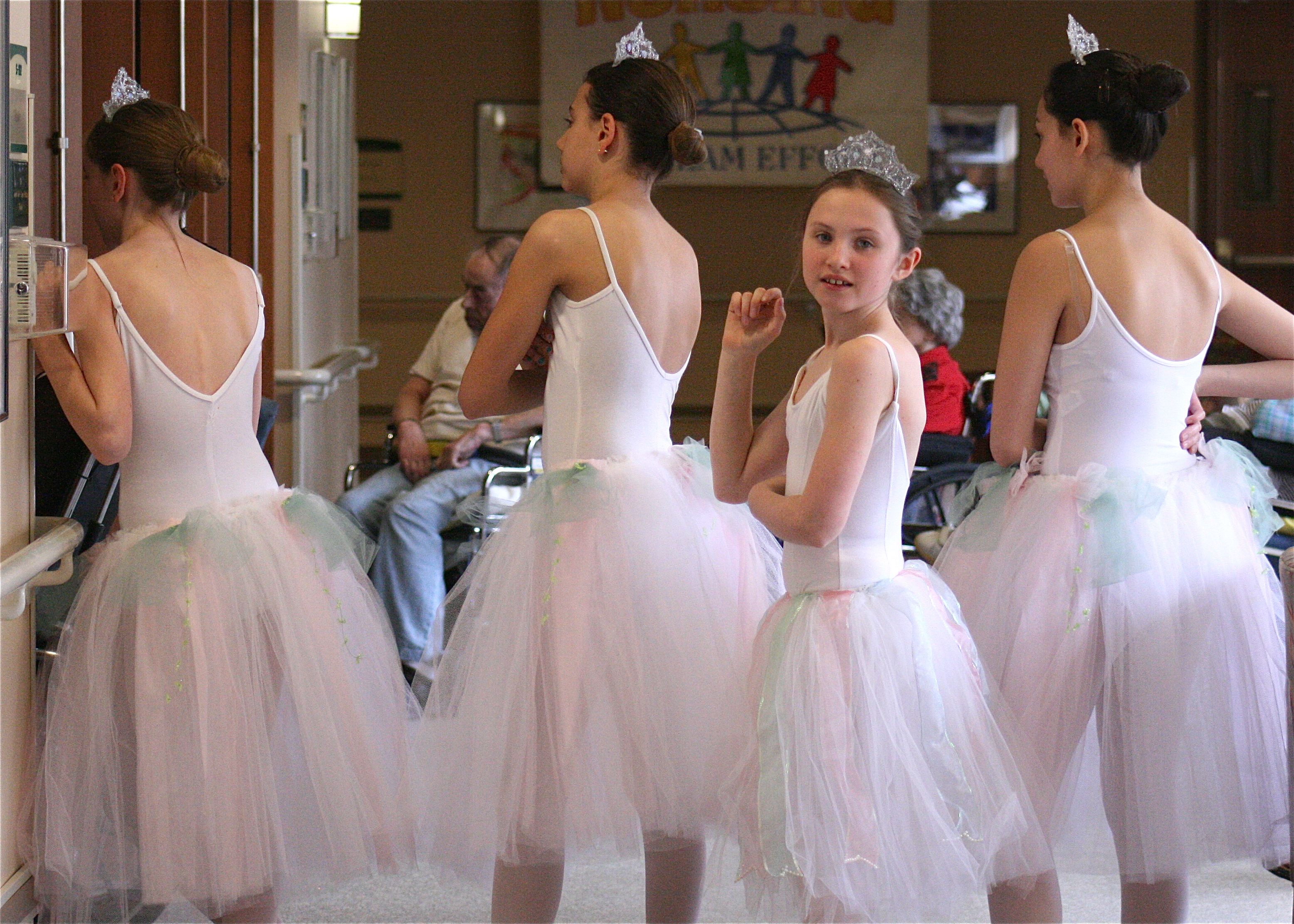 Nutcracker - backstage