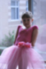 pretty ballerina in tutu