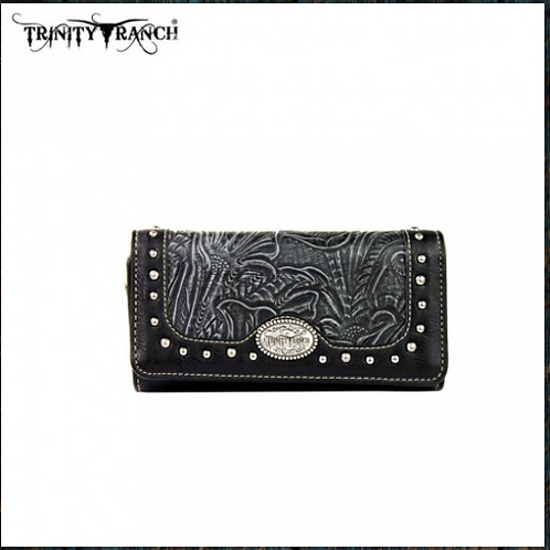 Trinity Ranch Tooled Collection Wallet
