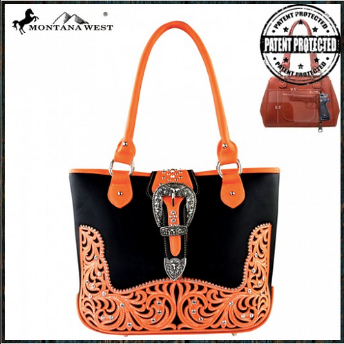 Montana West Buckle Concealed Handgun Handbag