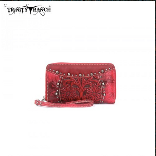 Trinity Ranch Western Tooled Collection Wallet