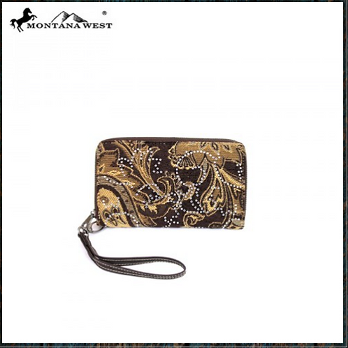 Montana West Western Bling Collection Wallet