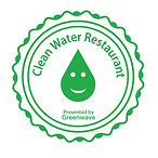clean water restaurant logo