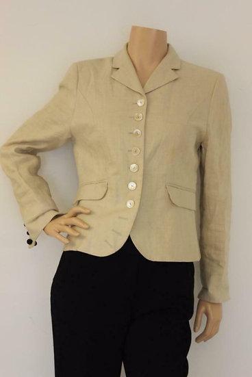 Josephine & Co - Beige linnen jasje, maat 38