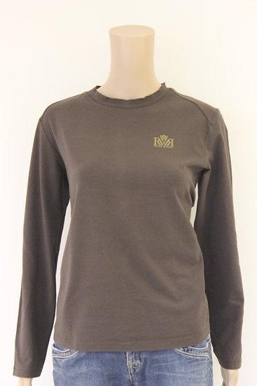 River Woods - Bruin basis shirt, maat 42/44