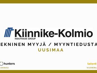 Tekninen myyjä / myyntiedustaja, Kiinnike-Kolmio