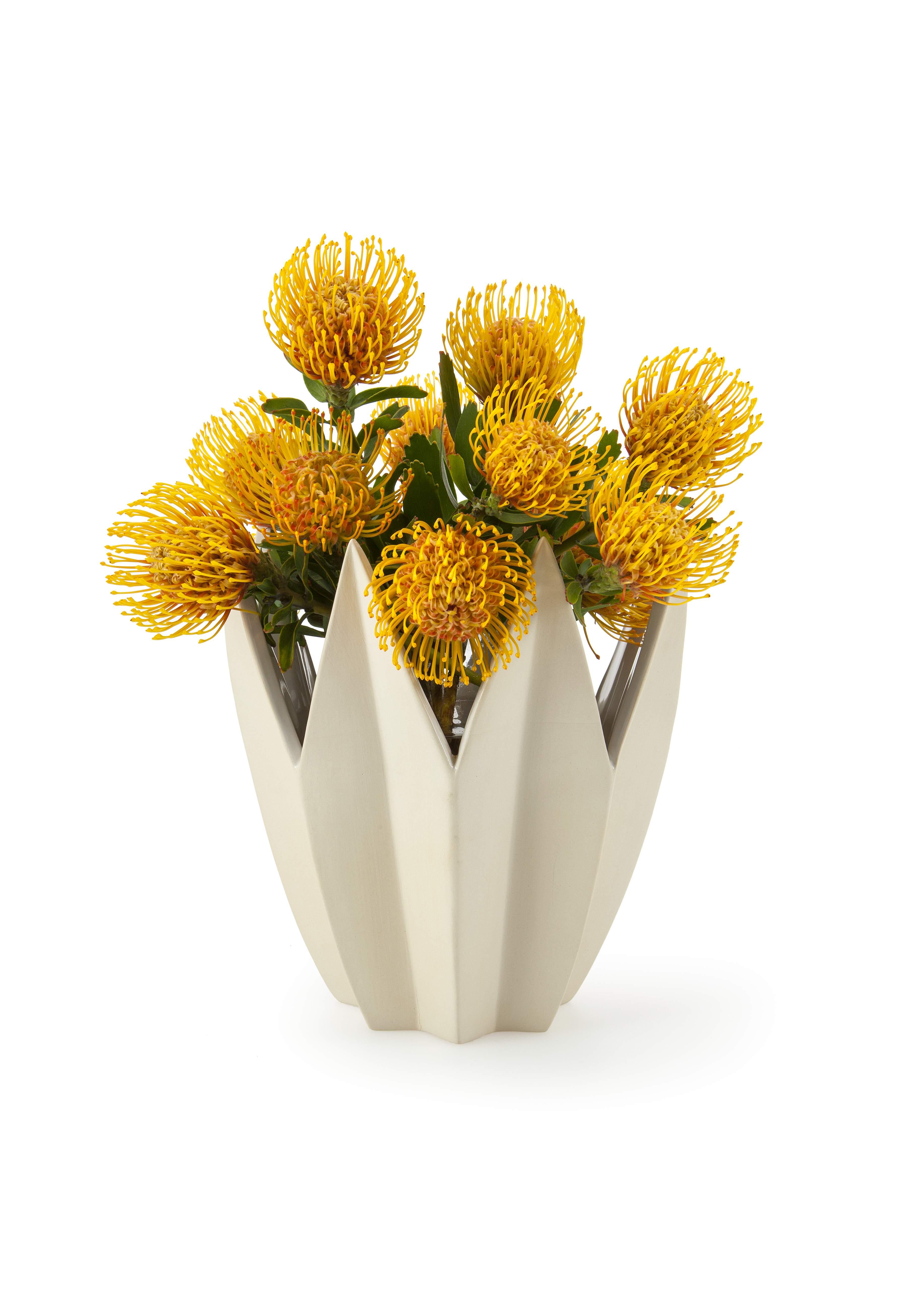 Ceramic Factory Crown Vase R999 (Styled) medium res