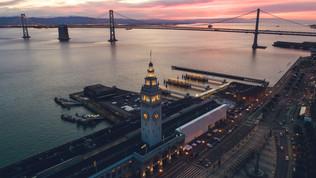 Ferry Building Sunrise
