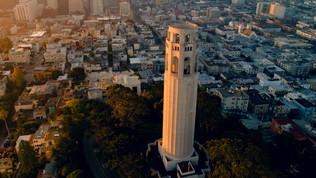 Coit Tower Sunrise