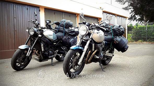 Chargement moto voyage