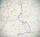 castello branco roadbook moto